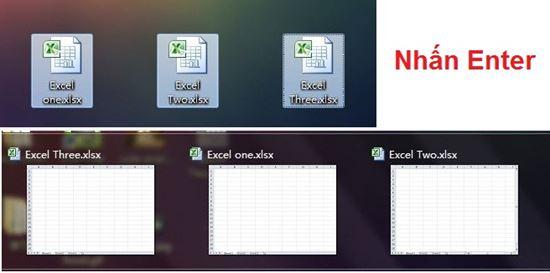 Thủ thuật Excel để mở nhiều bảng tính