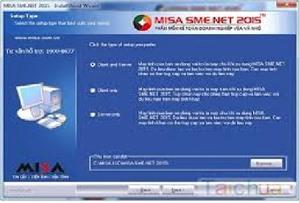 Các lỗi thường gặp khi đăng nhập vào phần mềm MISA SME.NET 2015