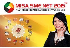 Kinh nghiệm sử dụng phần mềm kế toán MISA SME.NET 2015