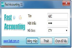 Làm thế nào để  khắc phục lỗi fonts khi cài đặt phần mềm kế toán Fast Accounting?