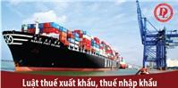 Đối tượng chịu và nộp thuế trong thuế xuất, nhập khẩu