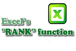 Cách sử dụng hàm Rank trong kế toán Excel