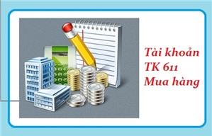 Phương pháp hạch toán TK 611 - Mua hàng theo TT 200