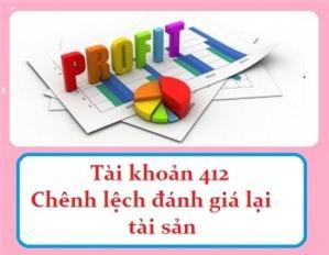 Phương pháp hạch toán TK 412 - Chênh lệch đánh giá lại tài sản theo TT 200