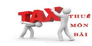 Quy định về địa điểm và thời gian nộp thuế Môn Bài