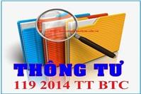 Bảng kê hàng hóa, dịch vụ bán ra 01-1/GTGT theo thông tư 119