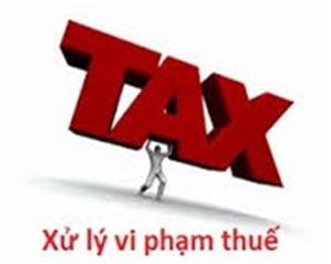 Các hành vi vi phạm hành chính về thuế theo Thông tư 166/2013/TT-BTC