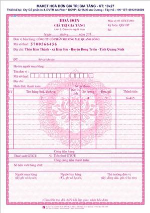 Khi thay đổi địa chỉ, tên công ty, mã số thuế cần xử lý hóa đơn như thế nào?