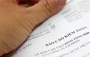 Doanh nghiệp dự thầu cũng phải nộp Báo cáo tài chính đã được kiểm toán?
