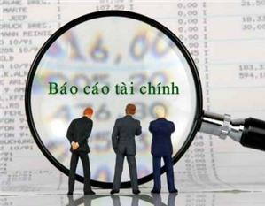 Báo cáo tình hình tài chính Mẫu số B01 – DNNKLT  theo Thông tư 133