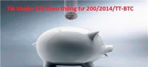 Cách hạch toán Dự phòng tổn thất tài sản - Tài khoản 229 theo Thông tư 200