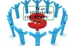 Hướng dẫn hạch toán TK 411 - Vốn đầu tư của chủ sở hữu (Phần 2)