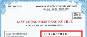 Các quy định về mã số thuế của doanh nghiệp