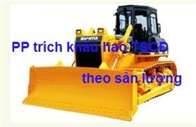 Huong dan phuong phap trich khau hao TSCD theo san luong theo TT 45 1 - PHƯƠNG PHÁP KHẤU HAO THEO SỐ LƯỢNG, KHỐI LƯỢNG SẢN PHẨM