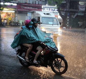 Áo đi mưa dành cho những cặp đôi