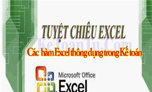 Cách sử dụng hàm COUNTIF trong Excel