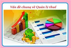 Chuẩn hóa thủ tục hành chính trong lĩnh vực quản lý thuế