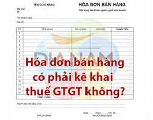 Công văn số 3430/TCT-KK quy định Về việc kê khai hóa đơn bán hàng