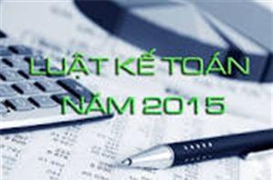 Quy định về sổ kế toán theo Luật kế toán 2015.