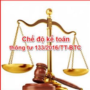 Bảng hệ thống tài khoản theo Thông tư 133/2016/TT-BTC