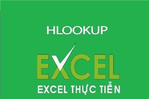Cách sử dụng Hàm HLOOKUP trong kế toán Excel