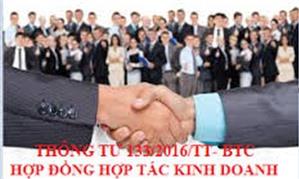 Phương pháp kế toán hợp đồng hợp tác kinh doanh chia lợi nhuận sau thuế