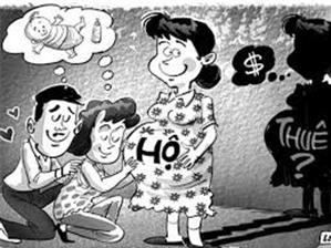 Hồ sơ - Chế độ cho lao động nữ mang thai hộ và nhờ mang thai hộ